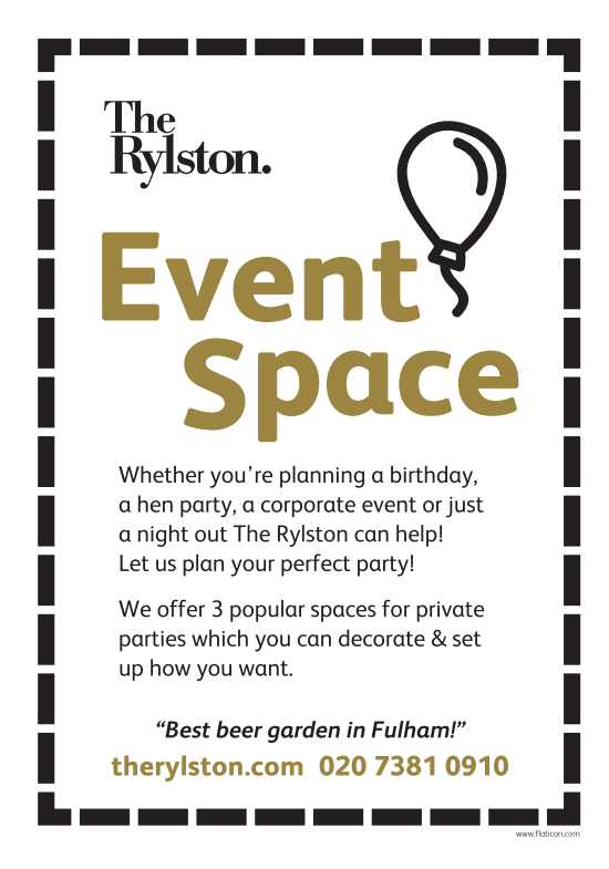 Private Events at The Rylston