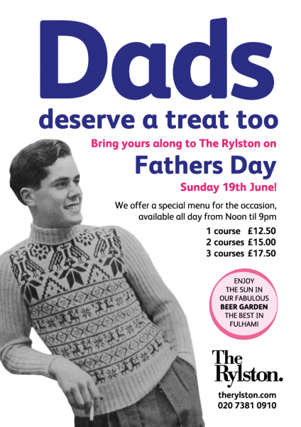 Father's Day at The Rylston